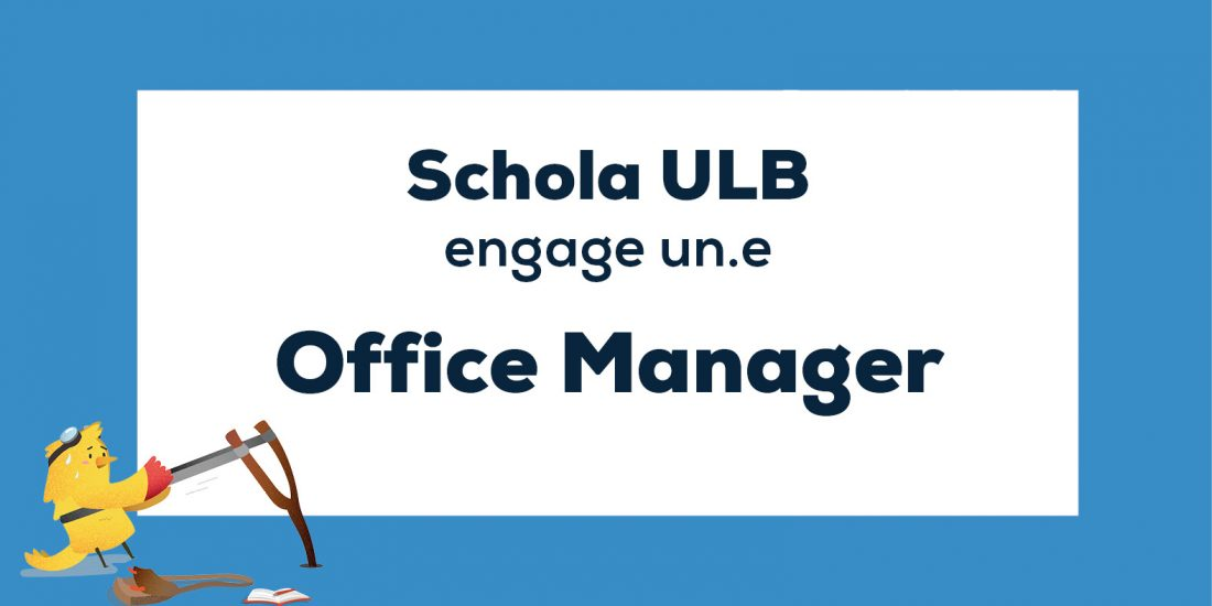 Offre d'emploi : Office Manager