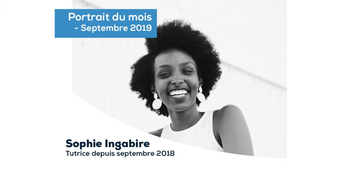 Portrait du mois - Septembre 2019