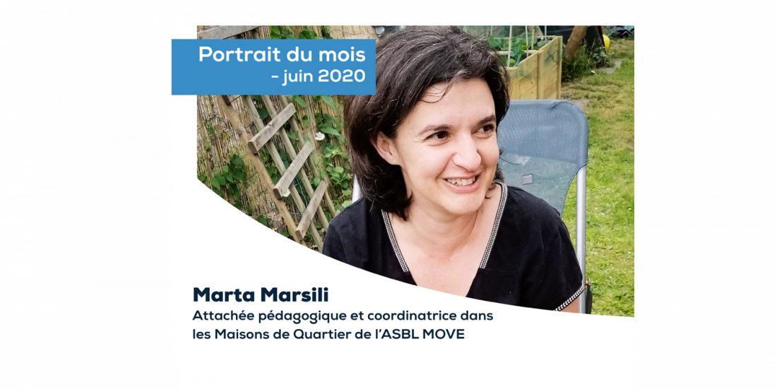 PORTRAIT DU MOIS - JUIN 2020