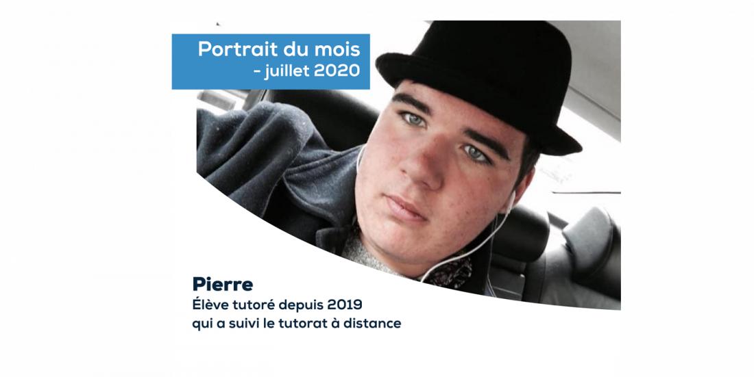 PORTRAIT DU MOIS - JUILLET 2020