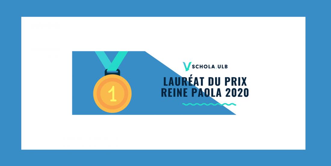 Schola ULB, Lauréat du Prix Reine Paola pour l'Enseignement 2019-2020