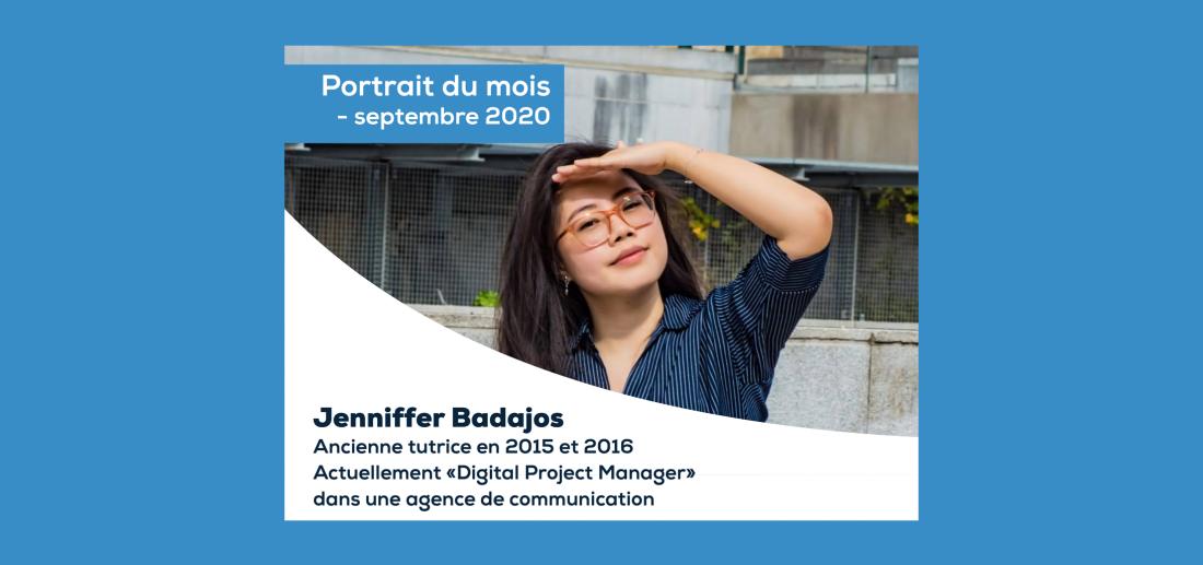 PORTRAIT DU MOIS - SEPTEMBRE 2020